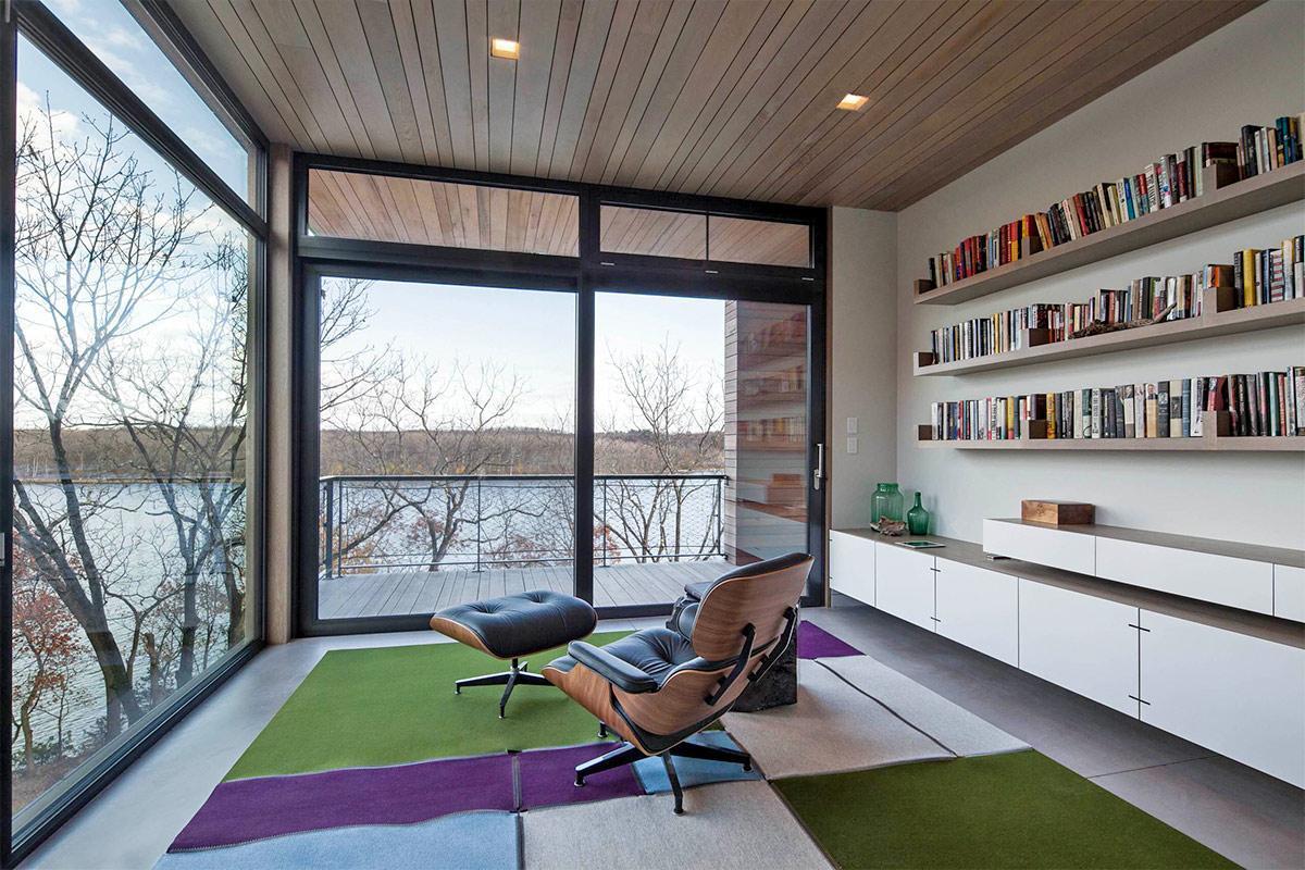 Không gian mở trong thiết kế phòng khách