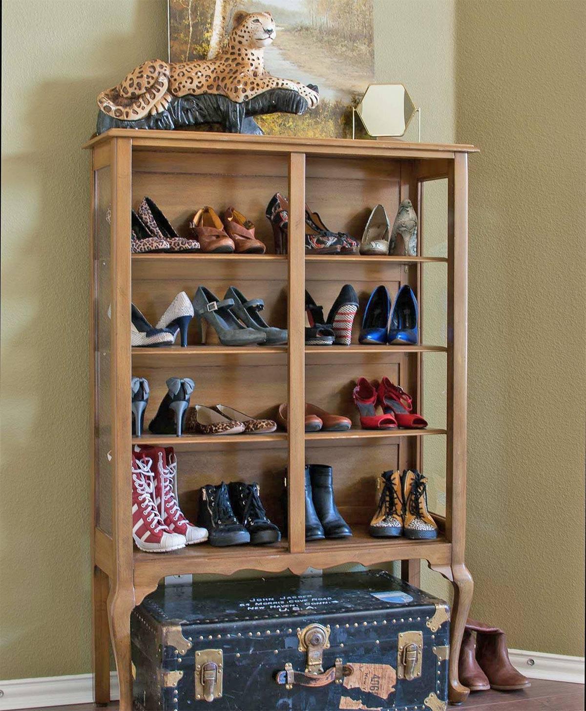 sắp xếp kệ giày