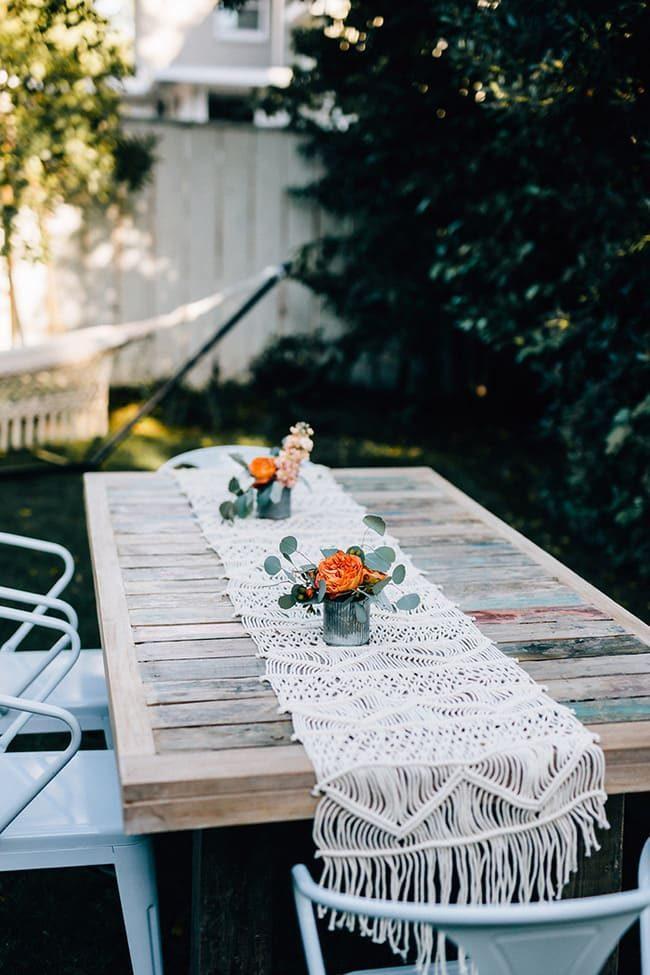 bàn ăn ngoài trời