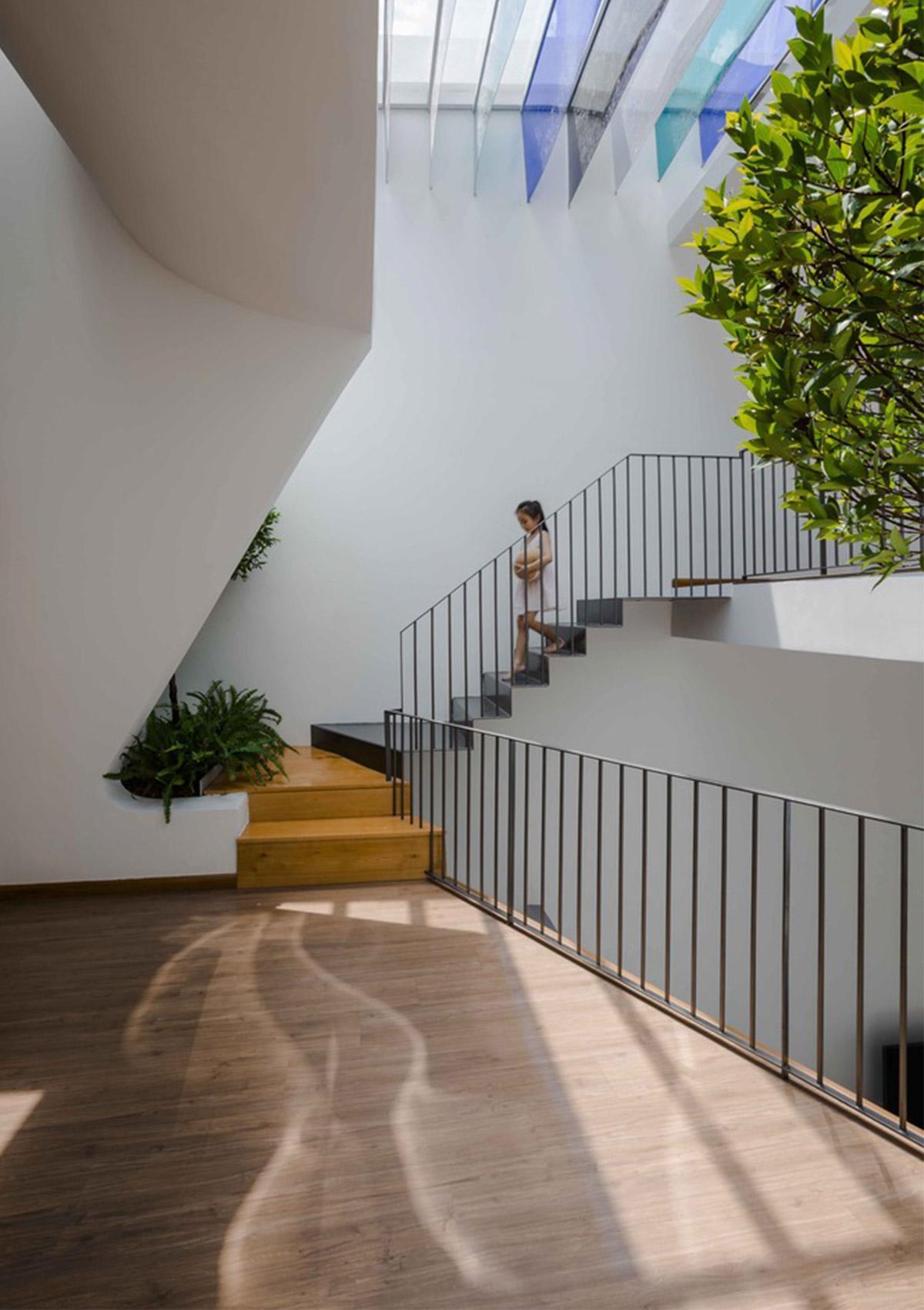 cầu thang cho thiết kế nhà ở