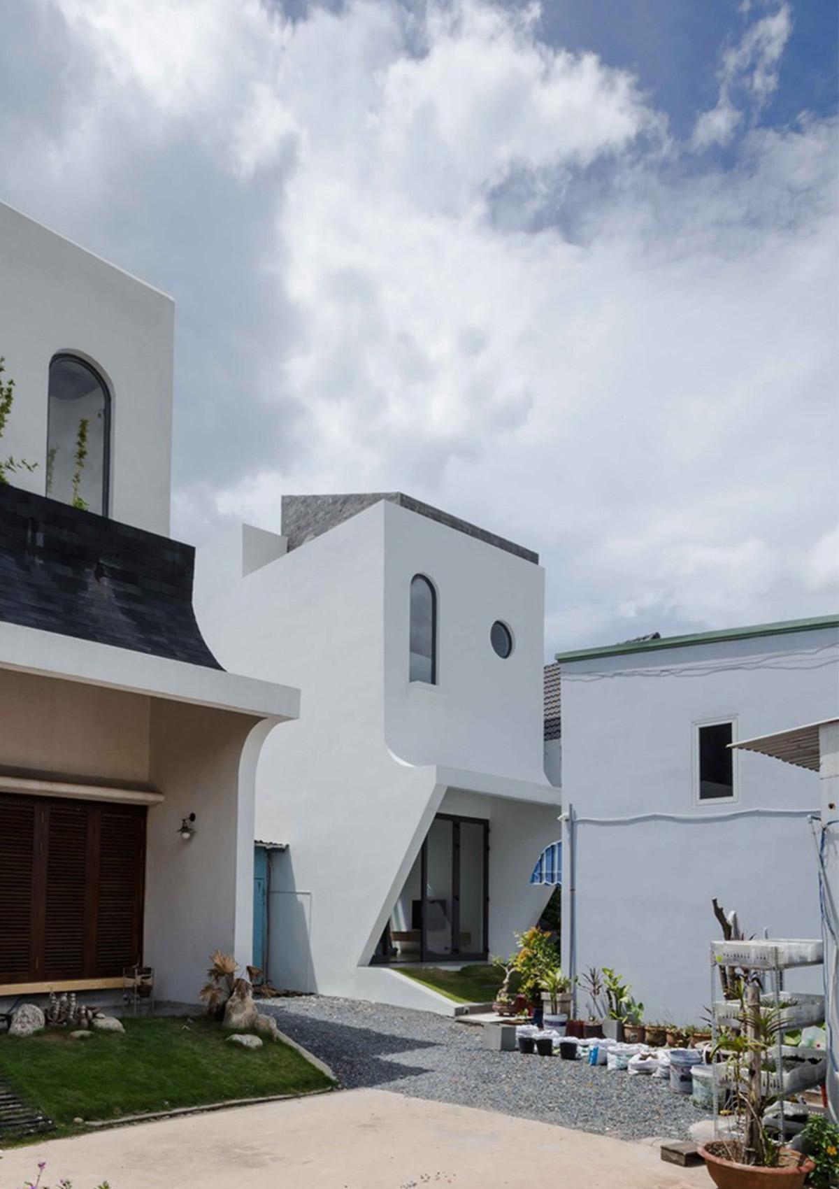 hình ảnh ngôi nhà sau thiết kế