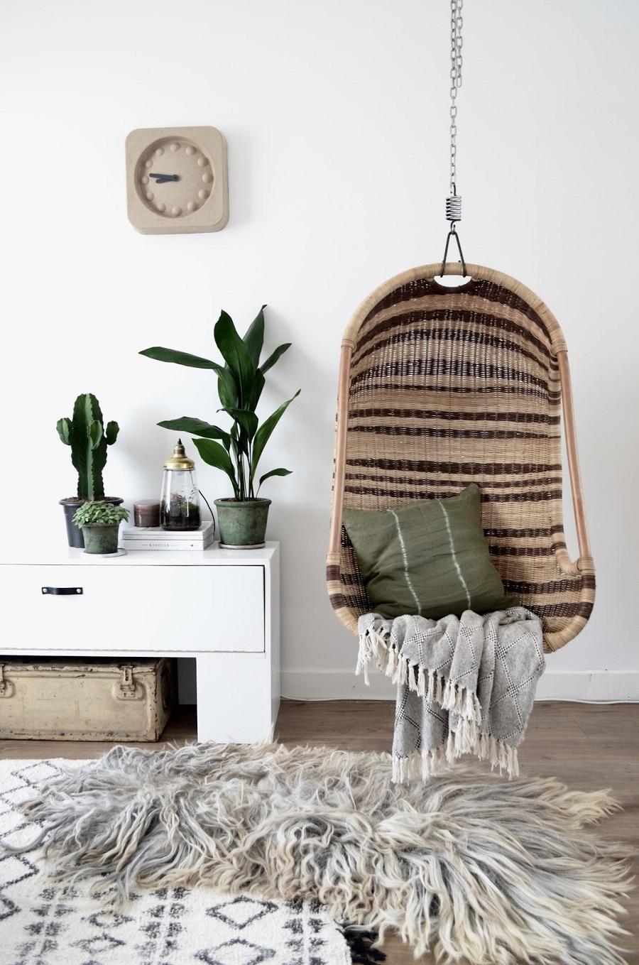ghế treo đan sợi