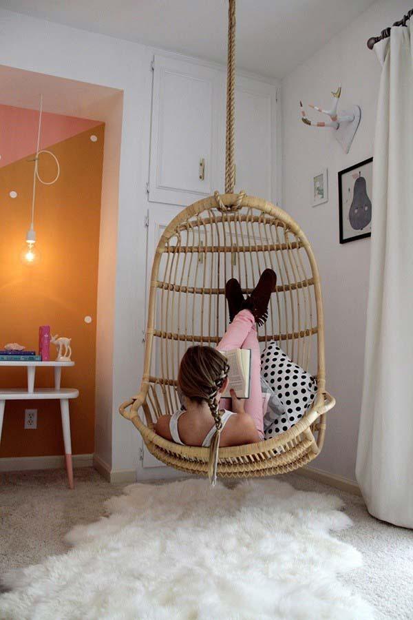 ghế xích đu trứng