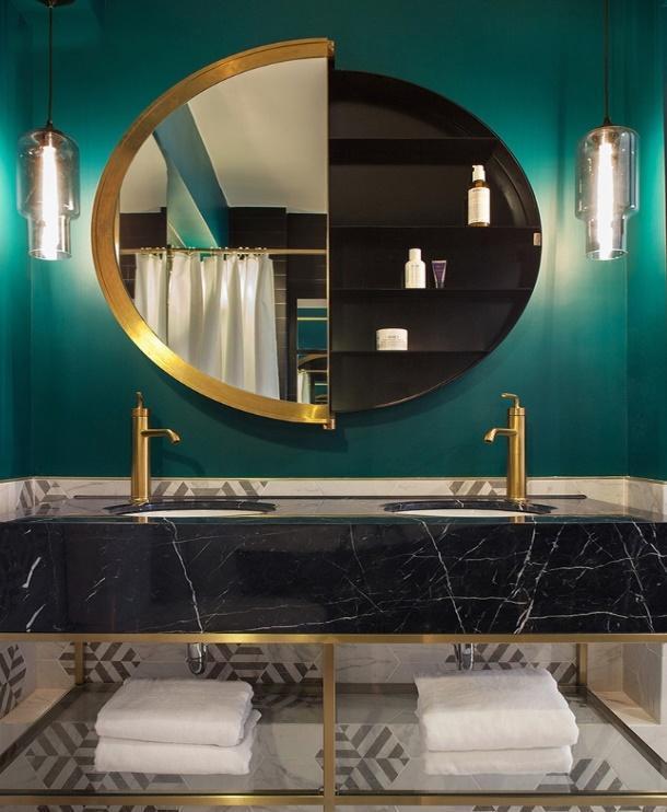 Mẫu nhà tắm khiến tín đồ thích tự sướng trước gương mê mẩn