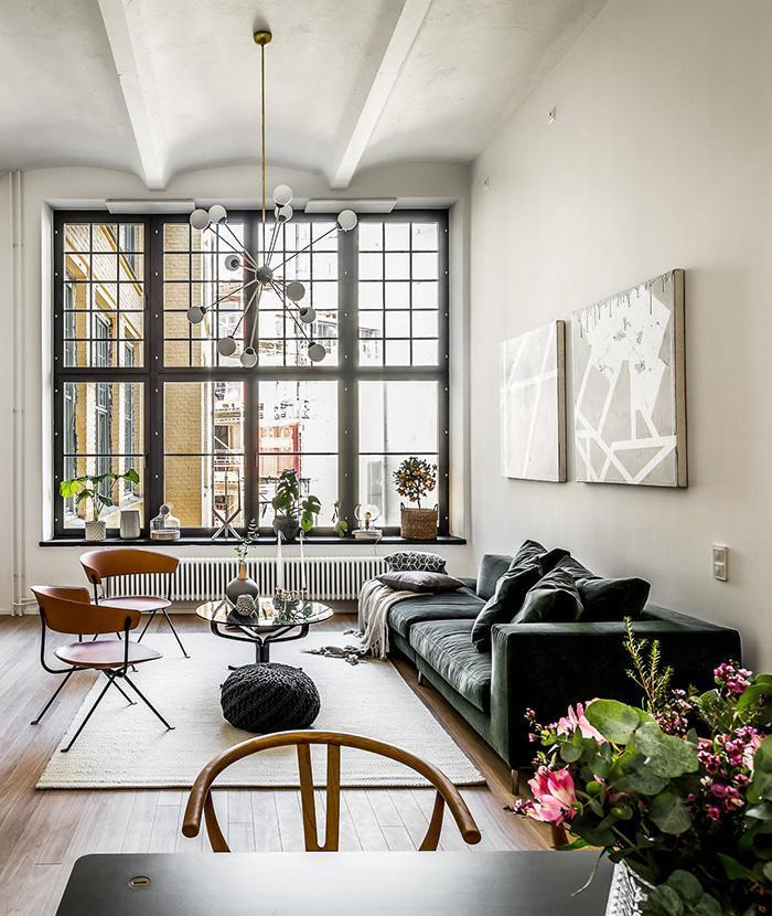 hình ảnh: thiết kế nội thất căn hộ mang phong cách Scandinavian đẹp như tranh vẽ