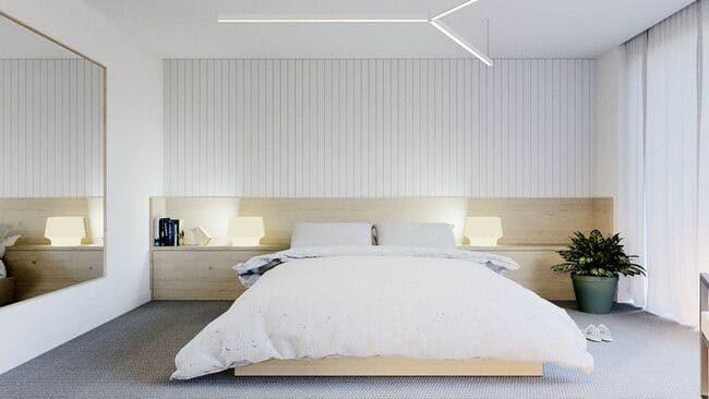 phòng ngủ phong cách minimalism