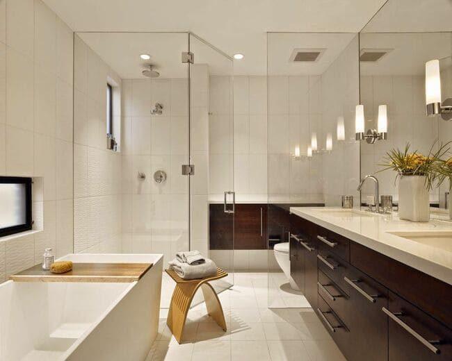 phòng tắm đầy đủ công năng