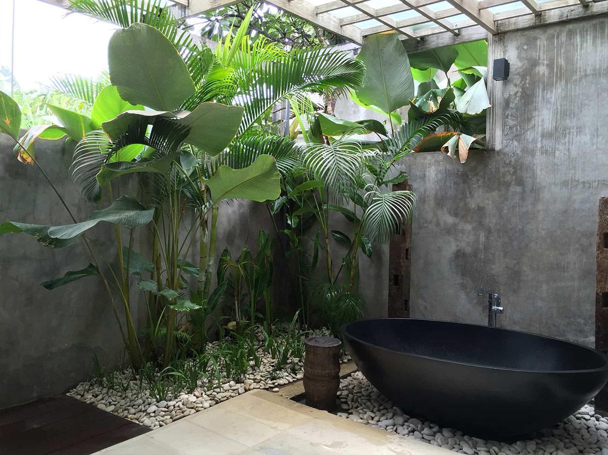 Thiết kế nội thất phòng tắm thư giãn