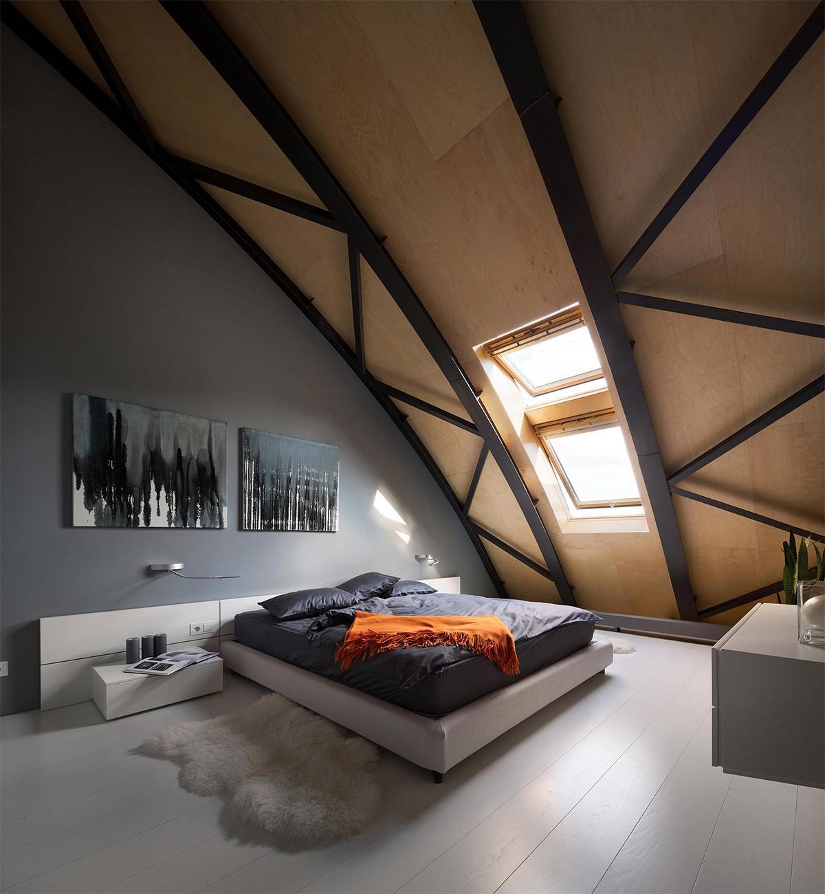 Trang trí nội thất vách đầu giường phòng ngủ tạo cảm giác mới lạ