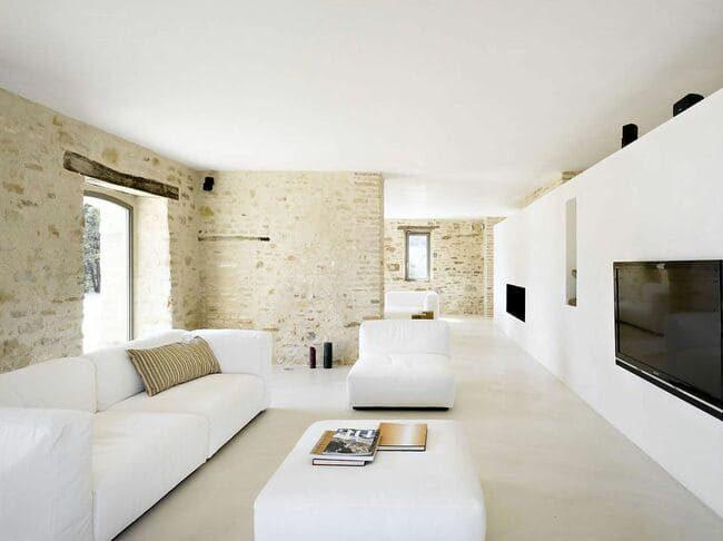ứng dụng phong cách minimalism