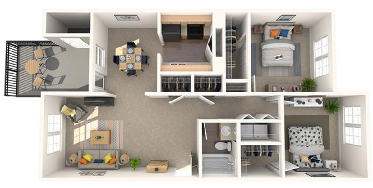Diện tích tim tường là gì? Diện tích thông thủy là gì? – Cách tính diện tích căn hộ chung cư