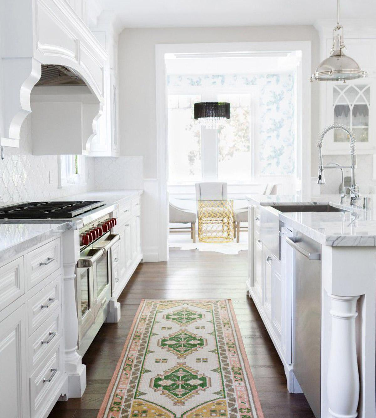 Mẫu thảm trải sàn phòng bếp được ưa chuộng