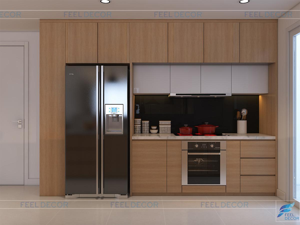 Thiết kế trang trí nội thất căn hộ 117m2 chung cư Hoàng Anh Thanh Bình