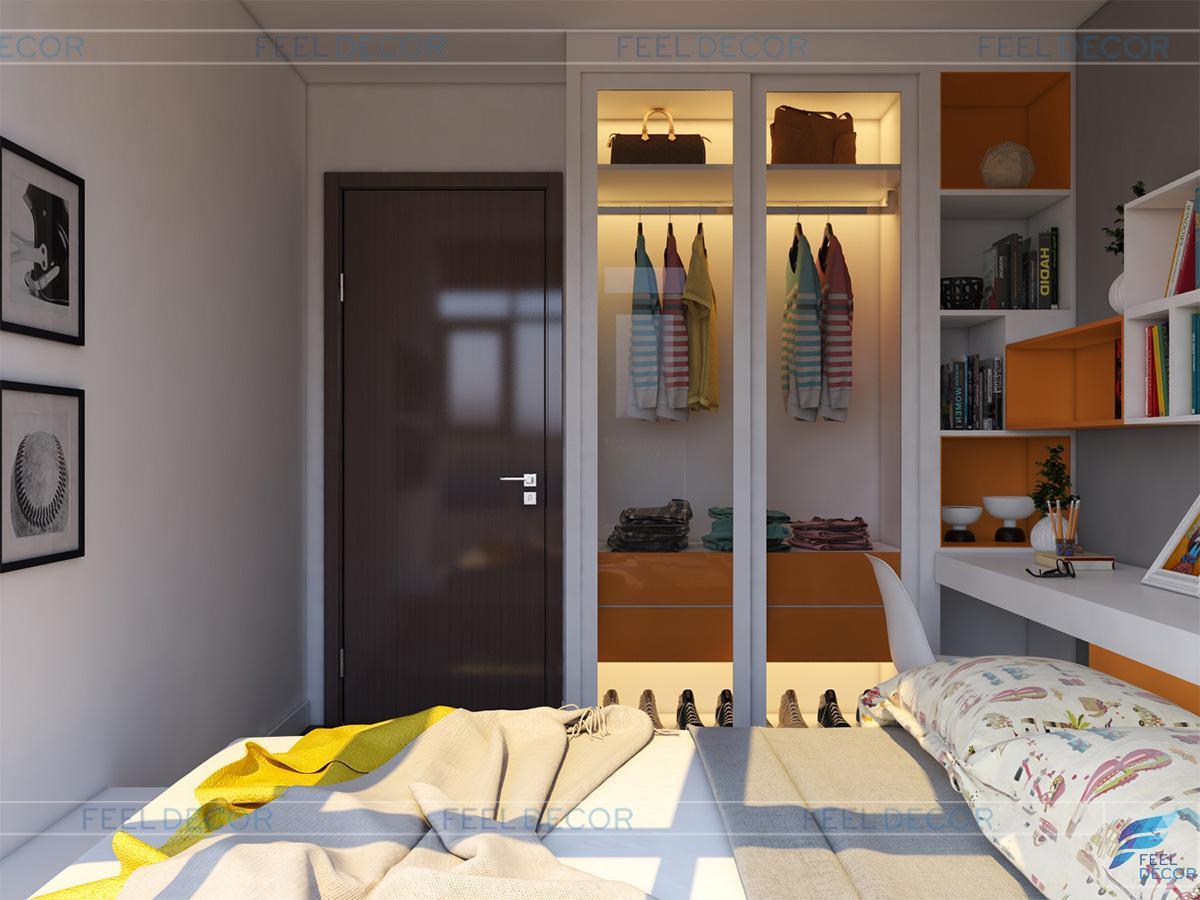 phòng ngủ bé trai năng động
