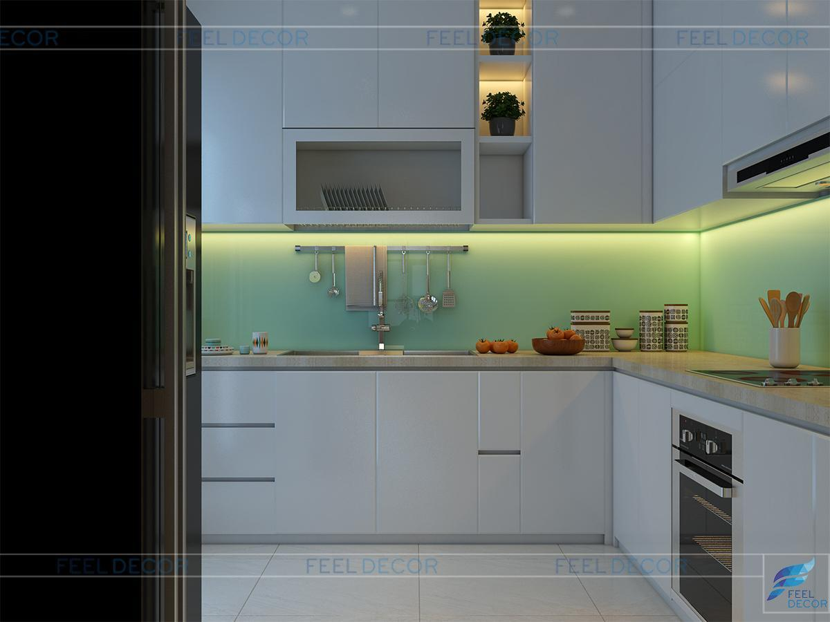 Thiết kế nội thất căn hộ 117m2 chung cư Hoàng Anh Thanh Bình