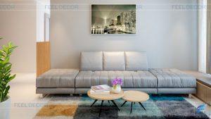 Thiết kế nội thất căn hộ 1 phòng ngủ diện tích 75m2 tại chung cư Celadon City đẹp hiện đại