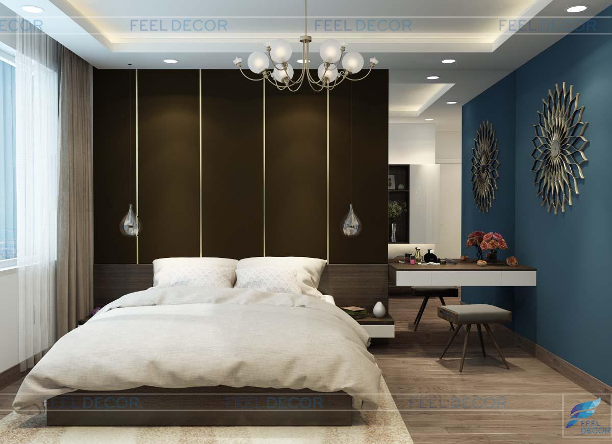 Thiết kế nội thất căn hộ diện tích 88m2 – 2 phòng ngủ tại dự án chung cư Green Valley