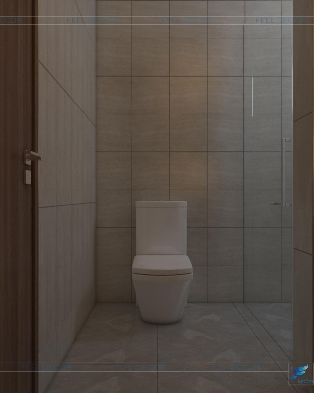 Phòng vệ sinh hiện đại, tiện nghi