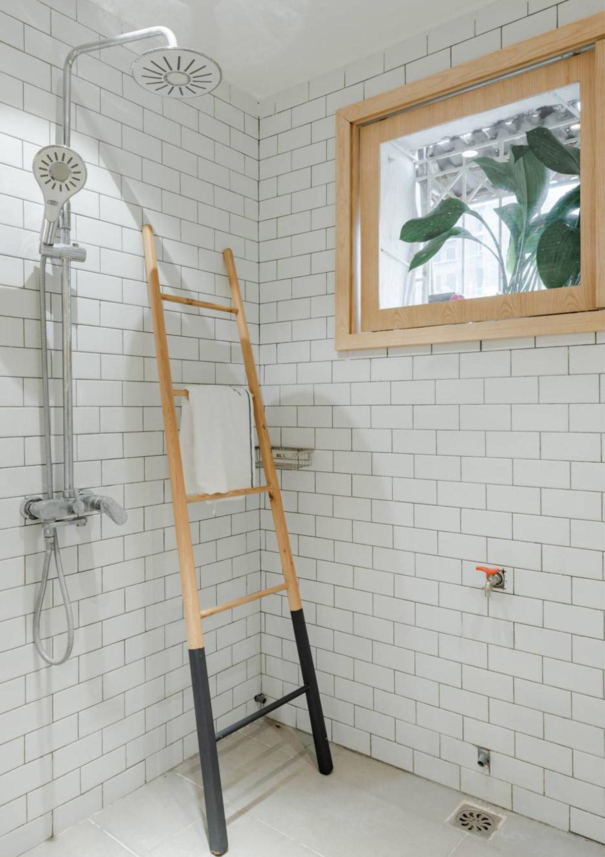 Phòng vệ sinh sau khi cải tạo