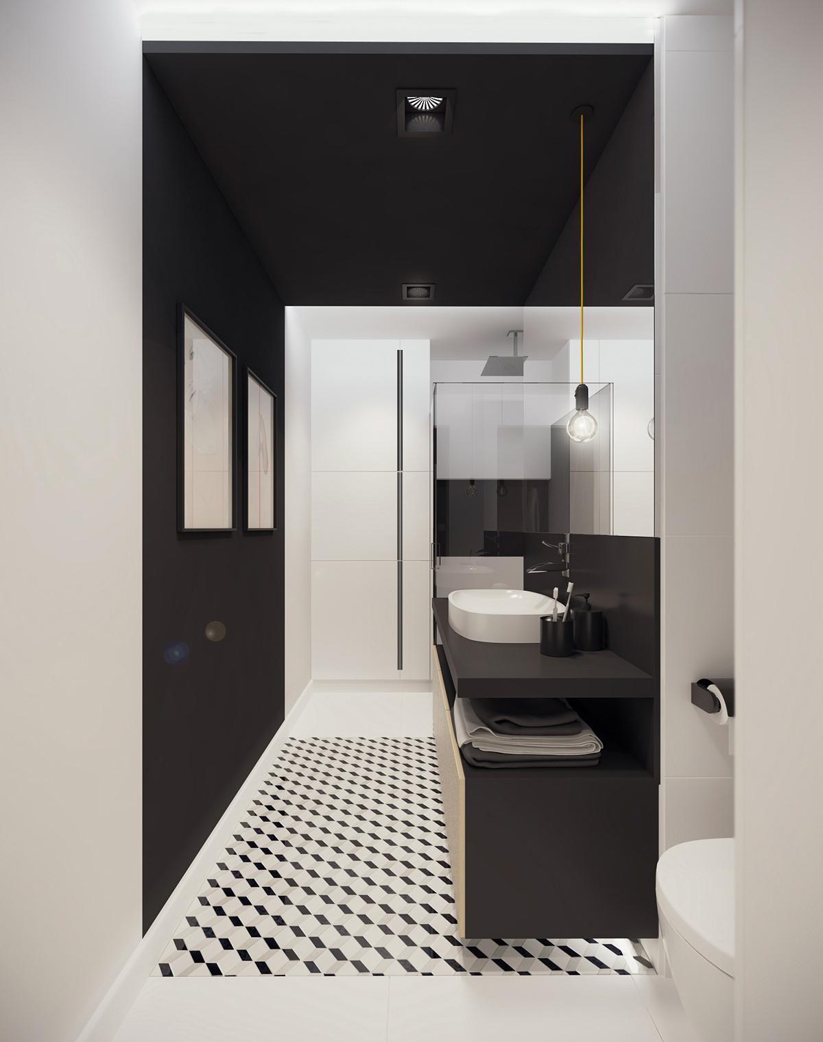 bố trí nhà vệ sinh thông minh