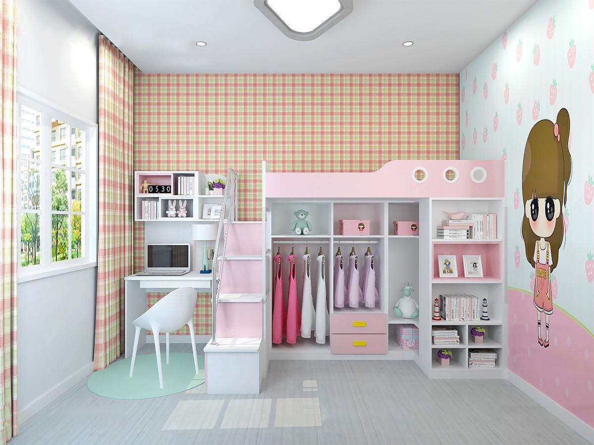 Những mẫu thiết kế giường ngủ tầng cho bé