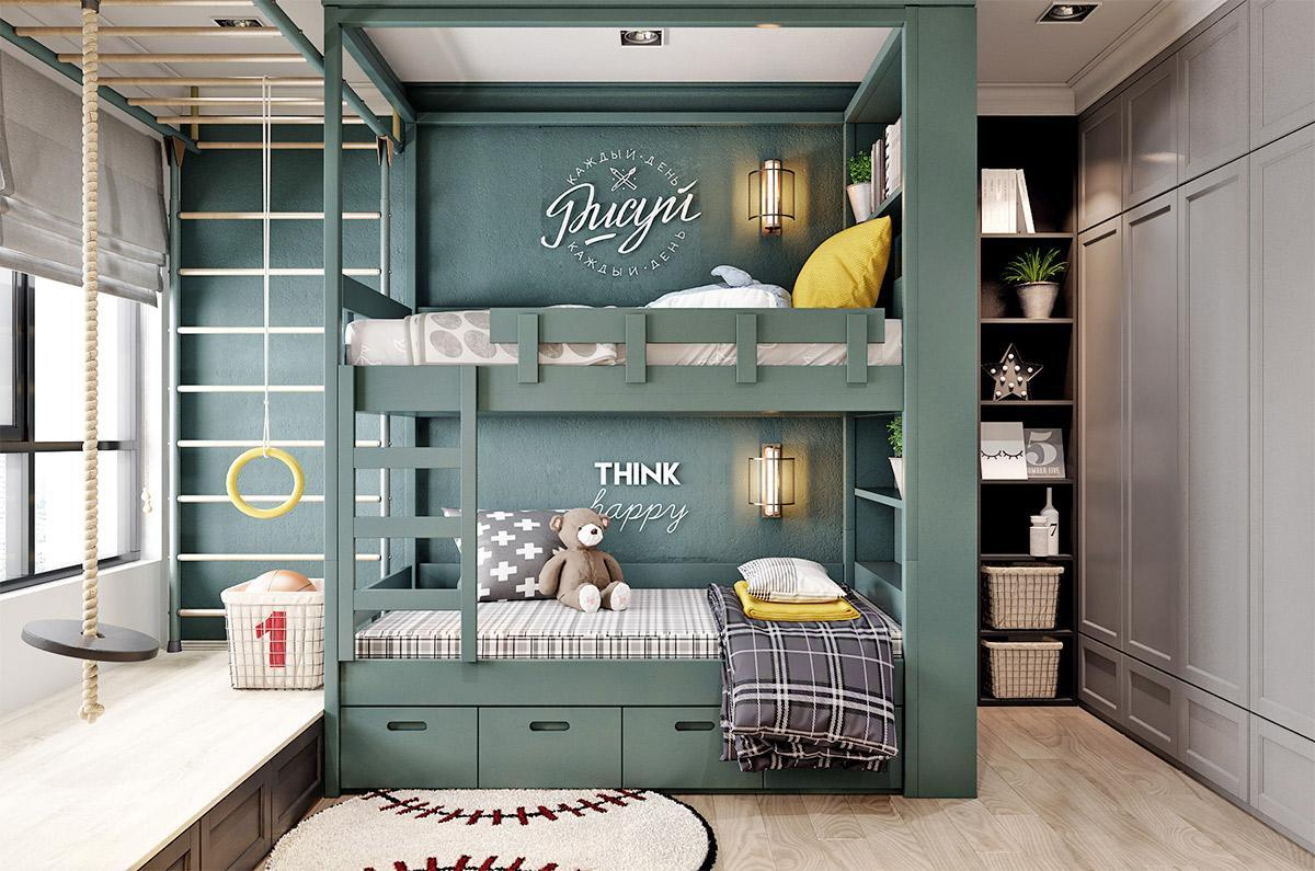 phòng ngủ của bé