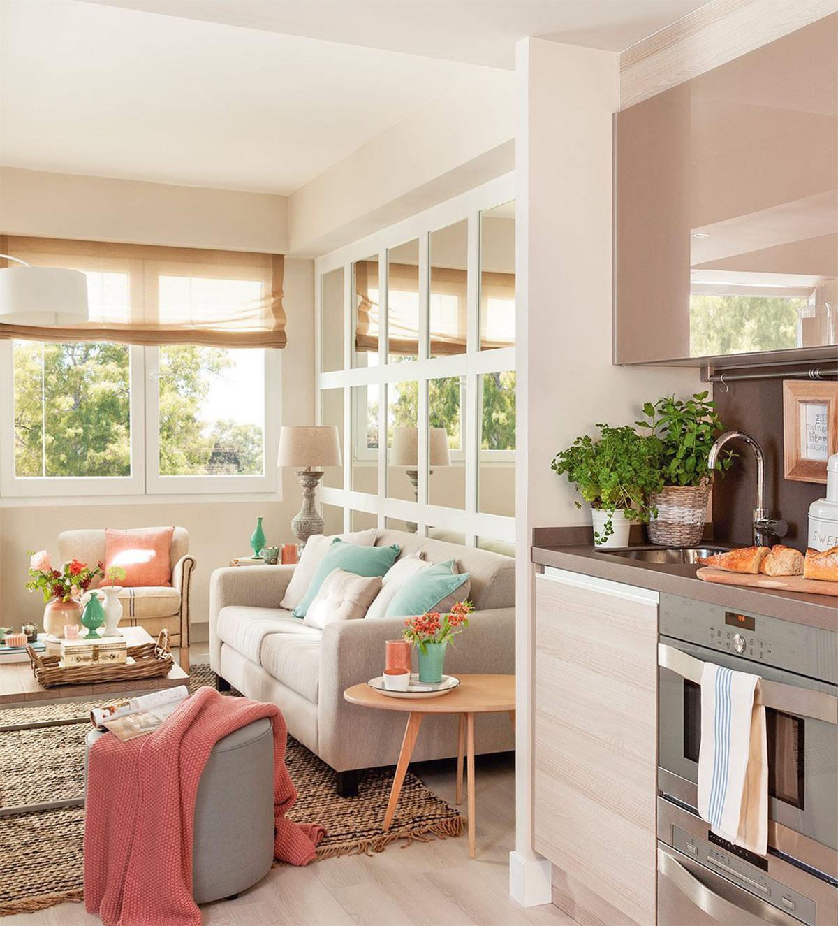phòng bếp trong thiết kế chung cư