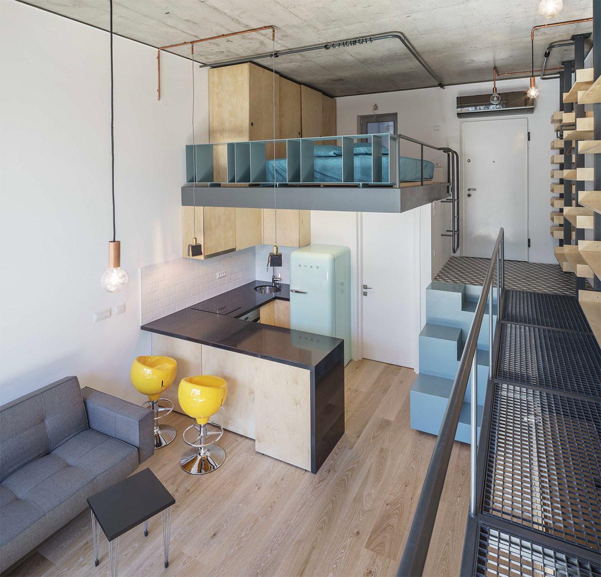 thiết kế nội thất gác lửng