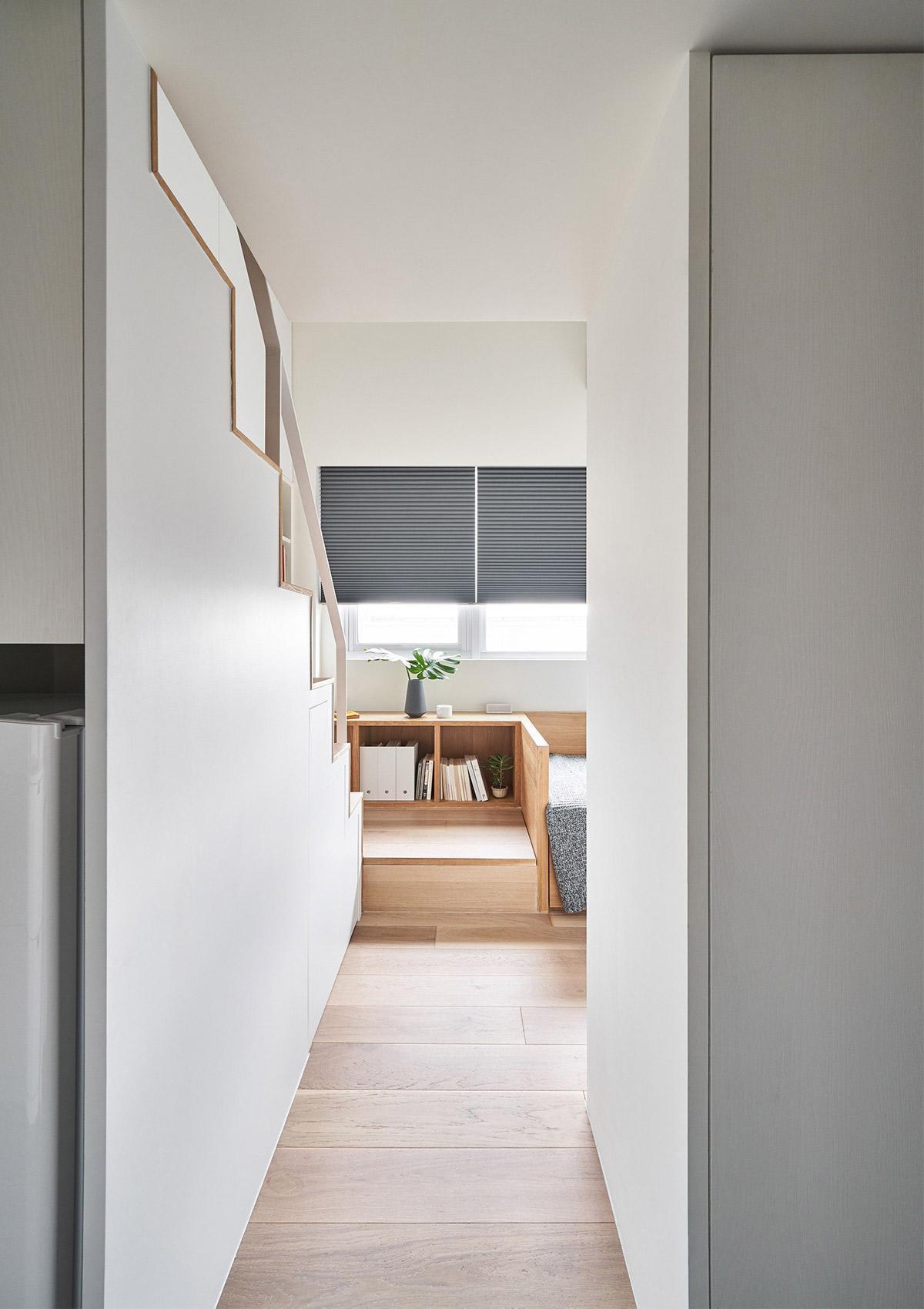Tham quan thiết kế căn hộ phong cách tối giản
