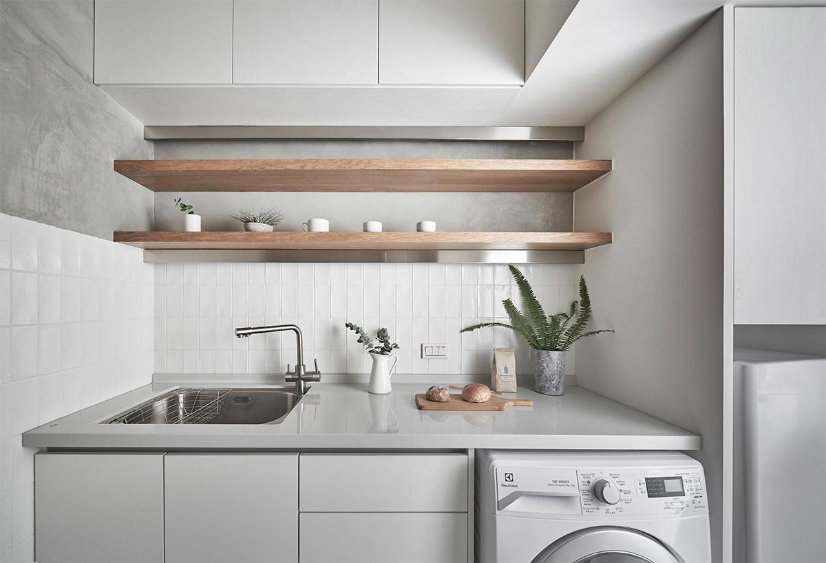 thiết kế phòng bếp cho căn hộ nhỏ