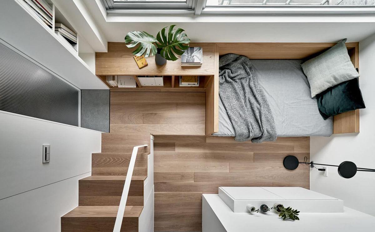 thiết kế thi công căn hộ nhỏ