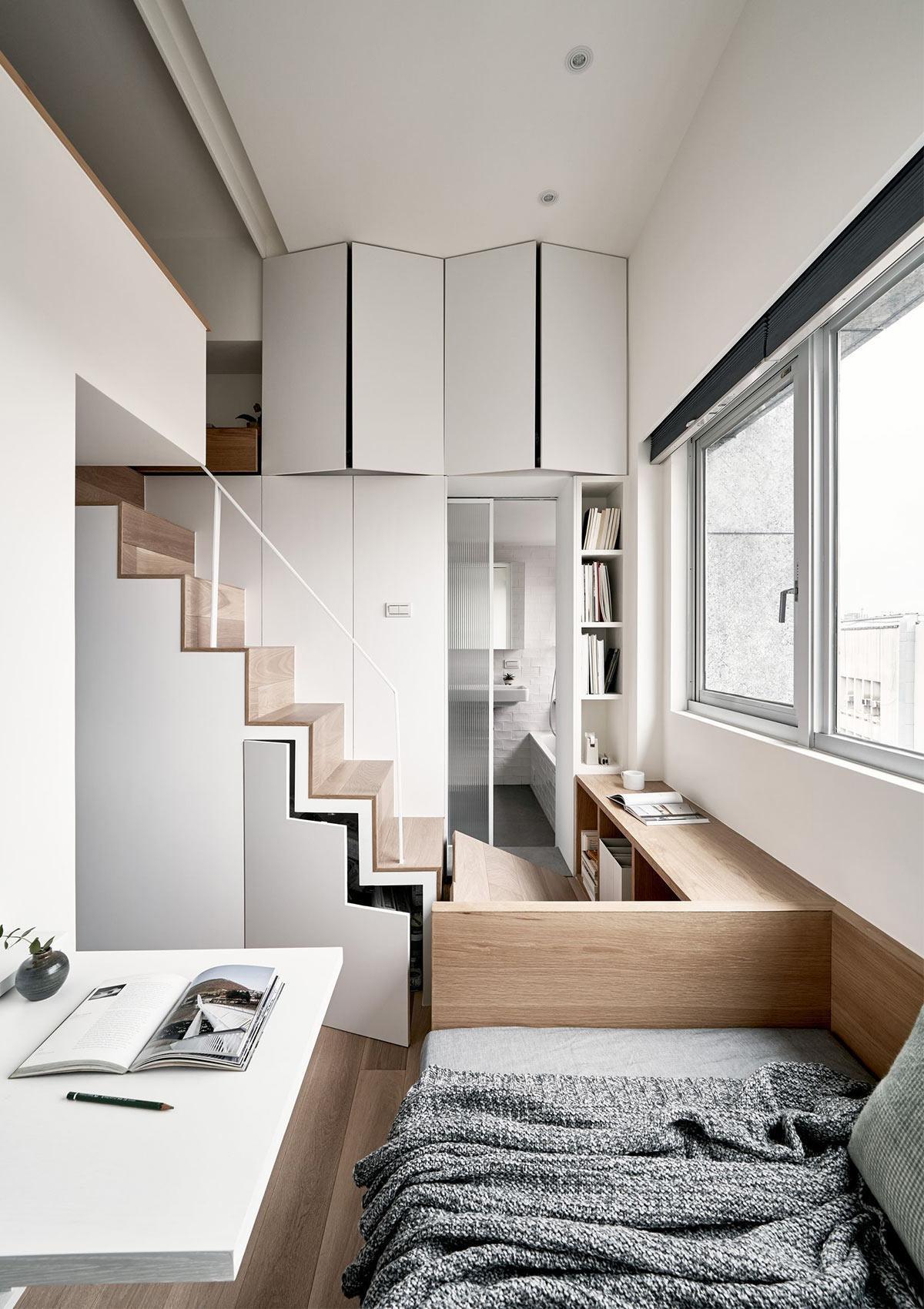 thiết kế căn hộ nhỏ tiện nghi