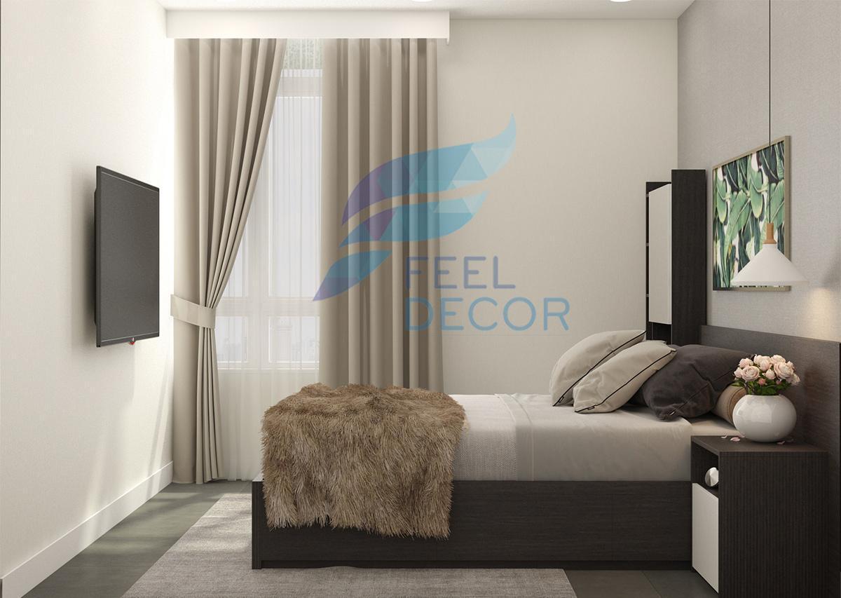 phòng ngủ phụ hiện đại