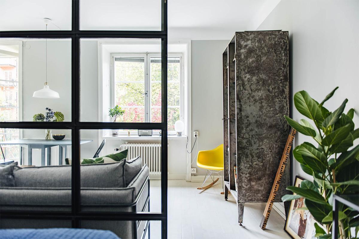 trang trí phòng ngủ phong cách scandinavian