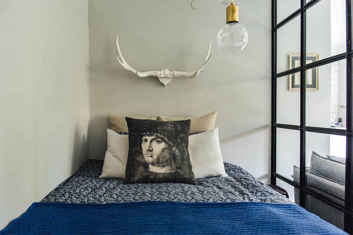 nội thất phòng ngủ phong cách scandinavian