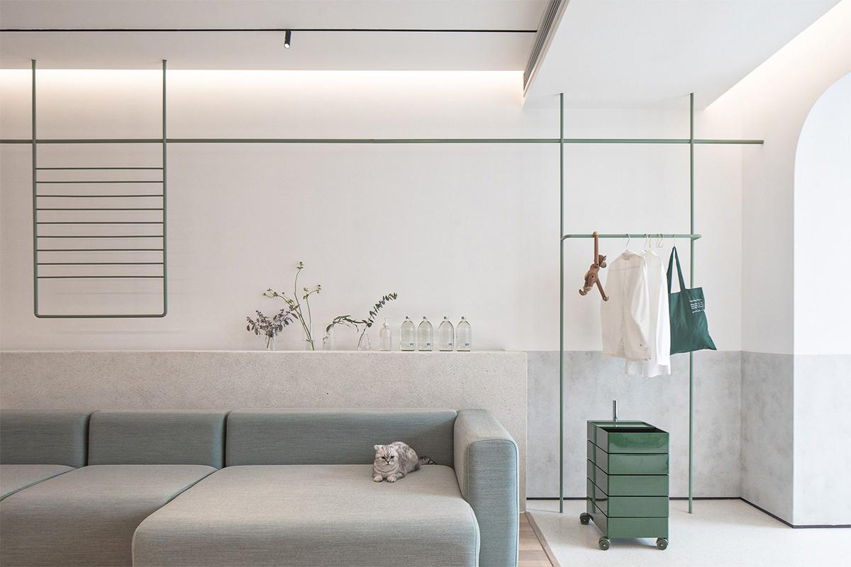 Thiết kế trang trí nội thất nhà ống hiện đại và thoáng mát trong con hẻm nhỏ tại Hà Nội