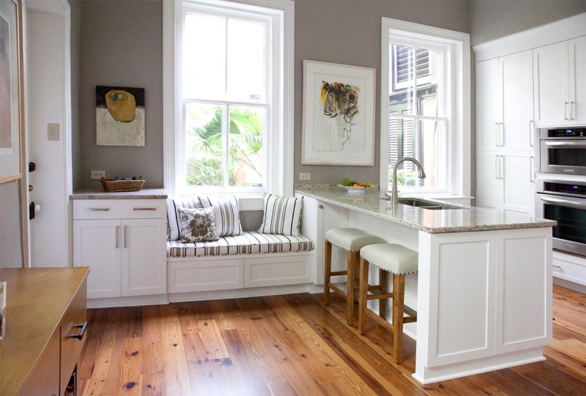 Ghế ngồi bên cửa sổ - Xu hướng thiết kế nhà bếp đẹp