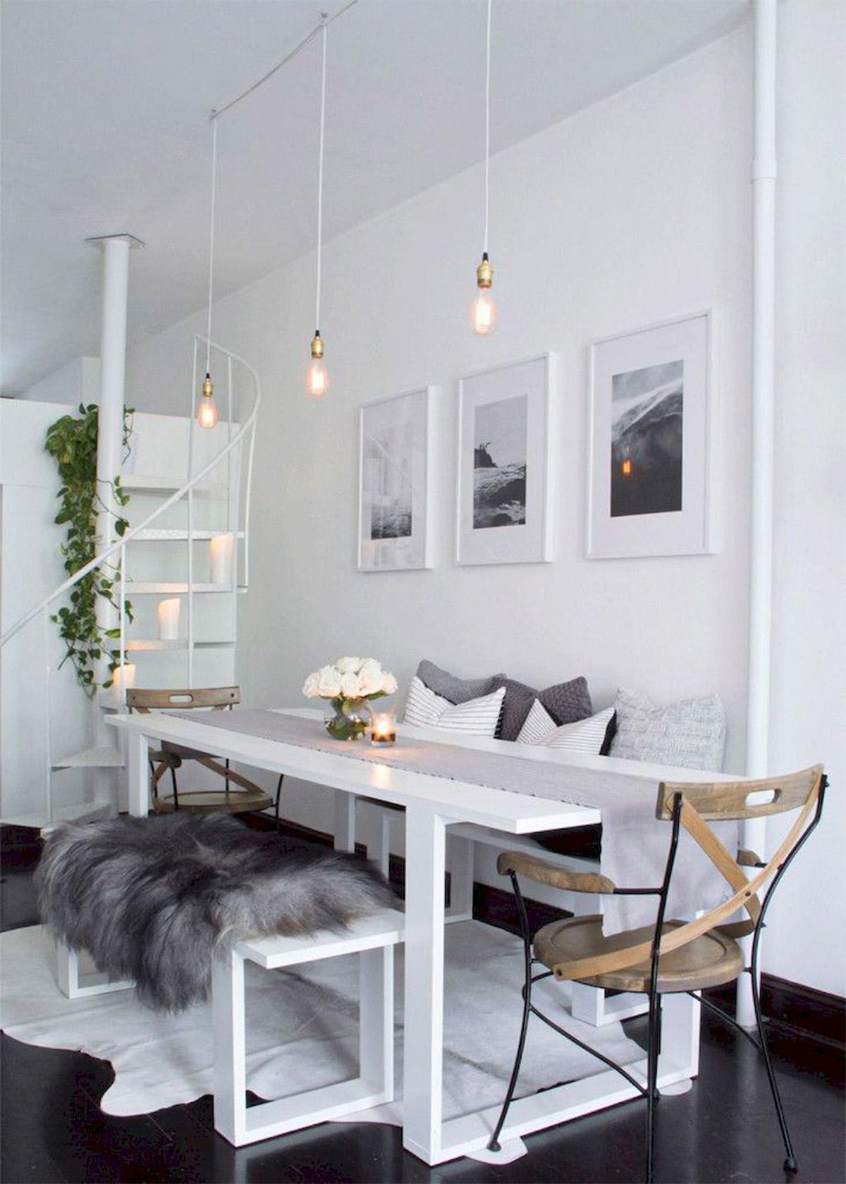 Thiết kế tông trắng cho nhà bếp