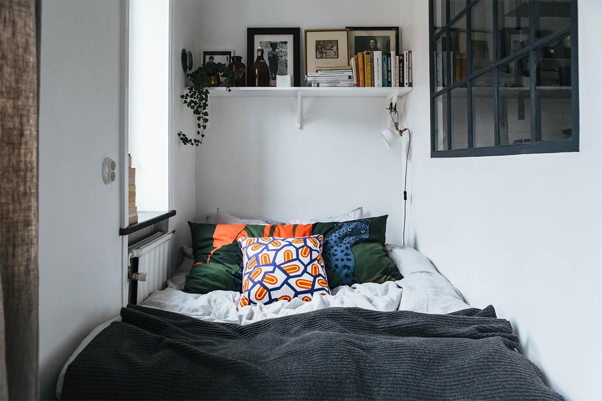 phòng ngủ theo phong cách Bắc âu