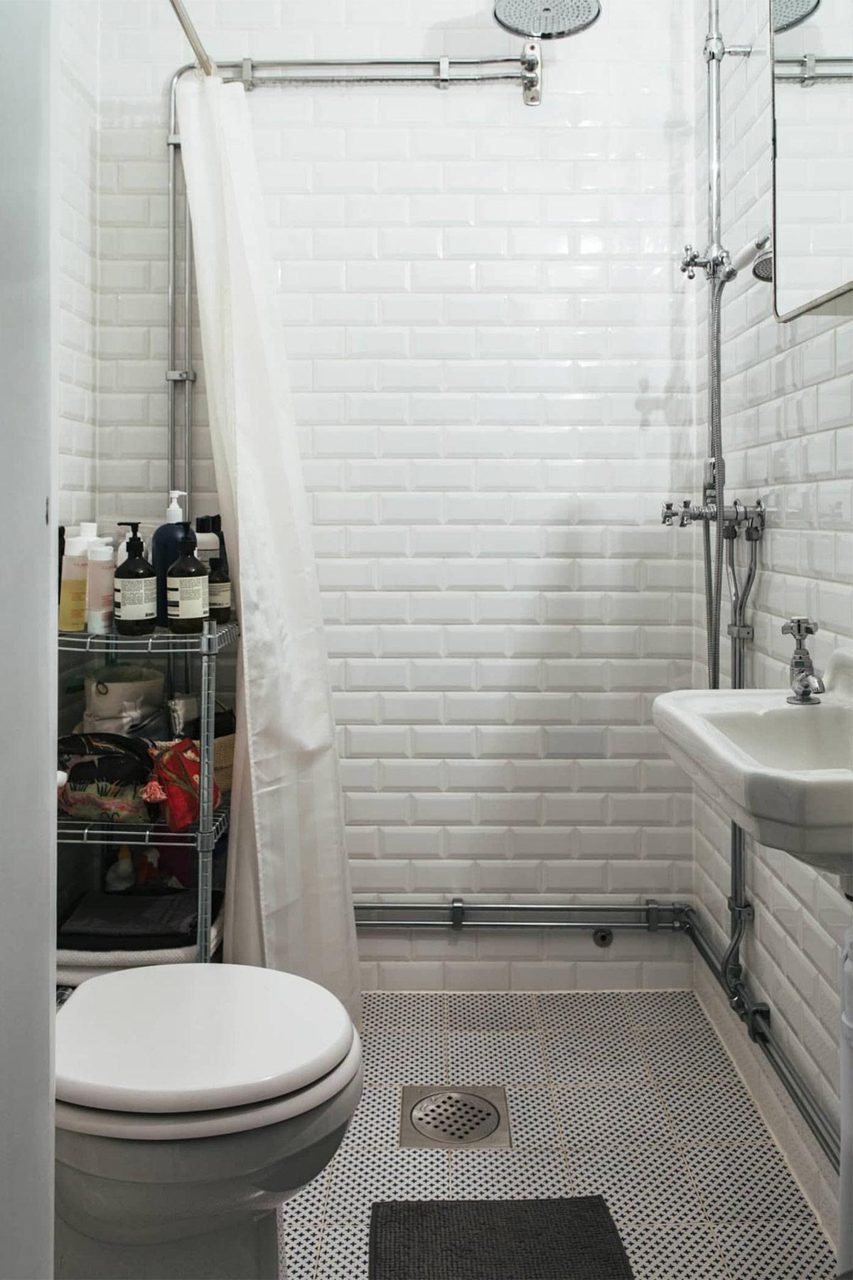 phòng tắm phong cách Bắc Âu