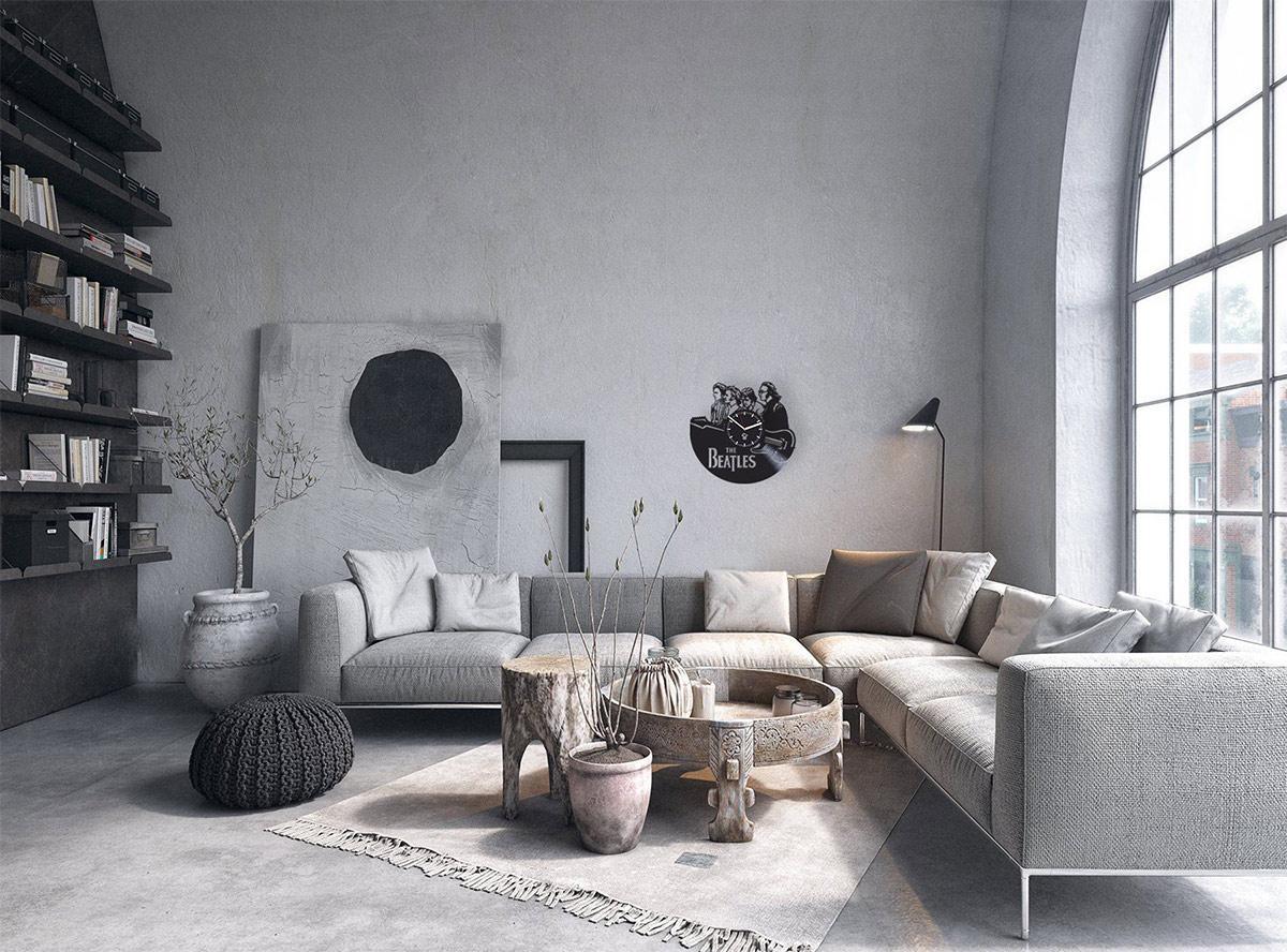trang trí nội thất Bắc Âu