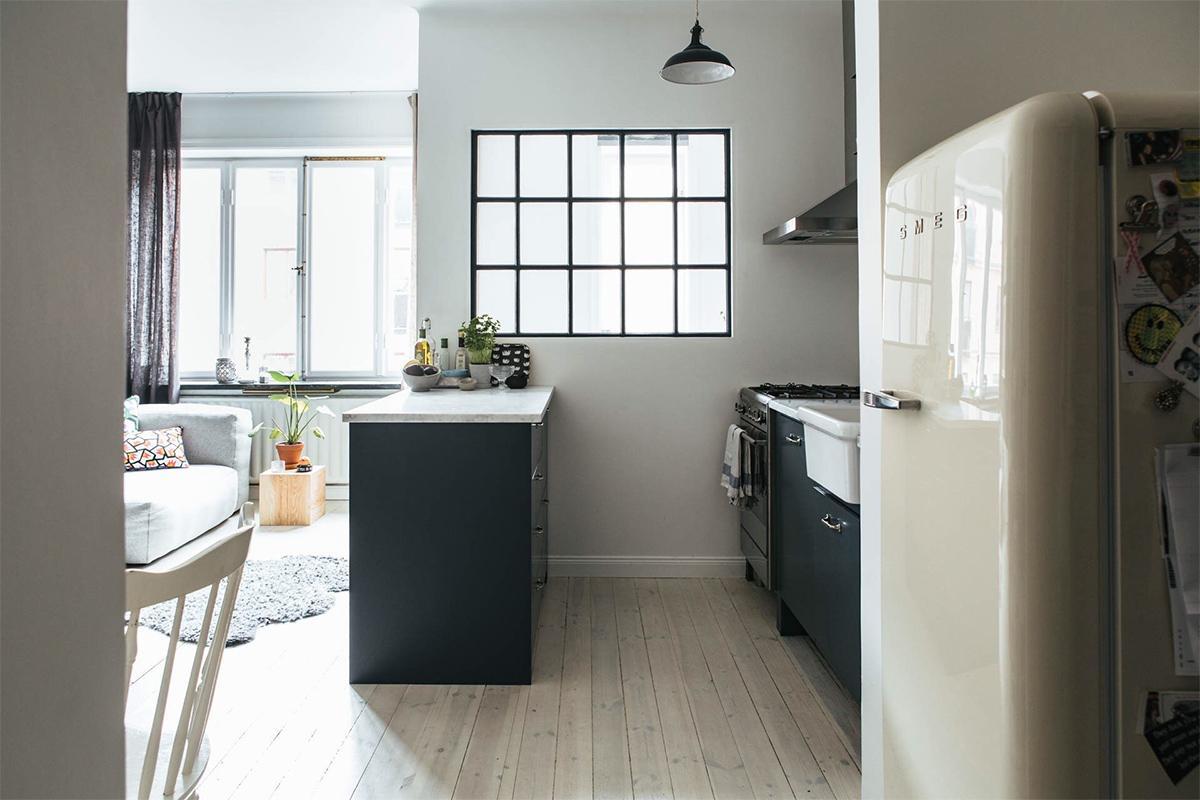 trang trí phòng bếp phong cách Bắc Âu