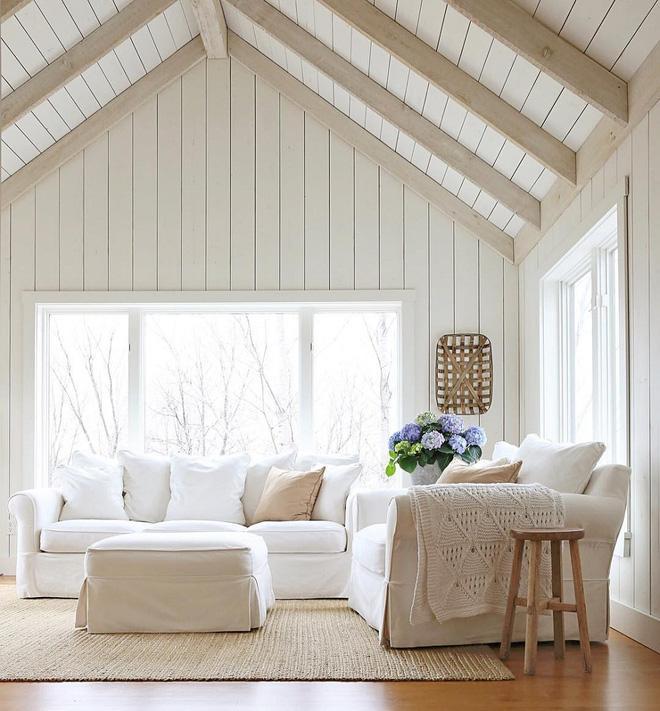 hình ảnh: mẫu thiết kế nội thất căn hộ nhà ở chung cư với gam màu trắng tinh khôi