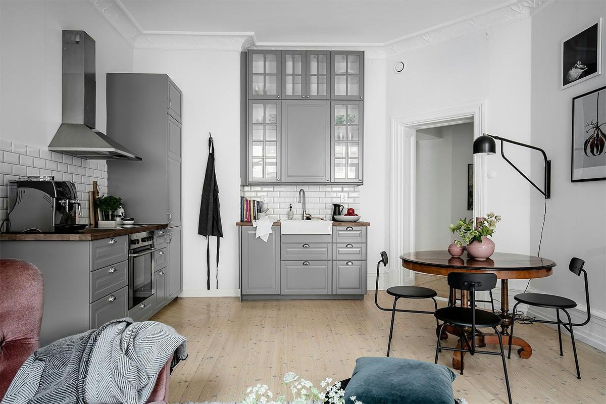 Căn hộ nhỏ xinh với cách trang trí nội thất đẹp xuất sắc theo phong cách Scandinavia