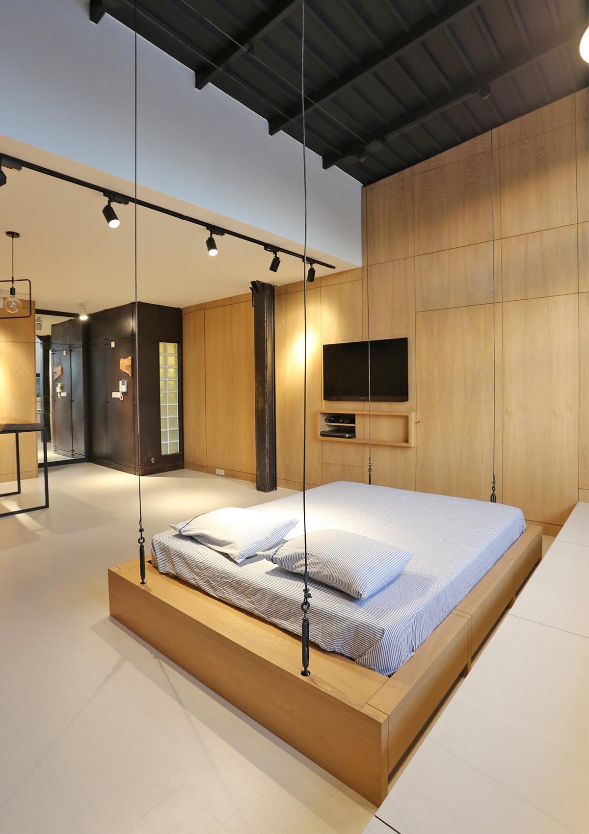 phòng ngủ diện tích hẹp