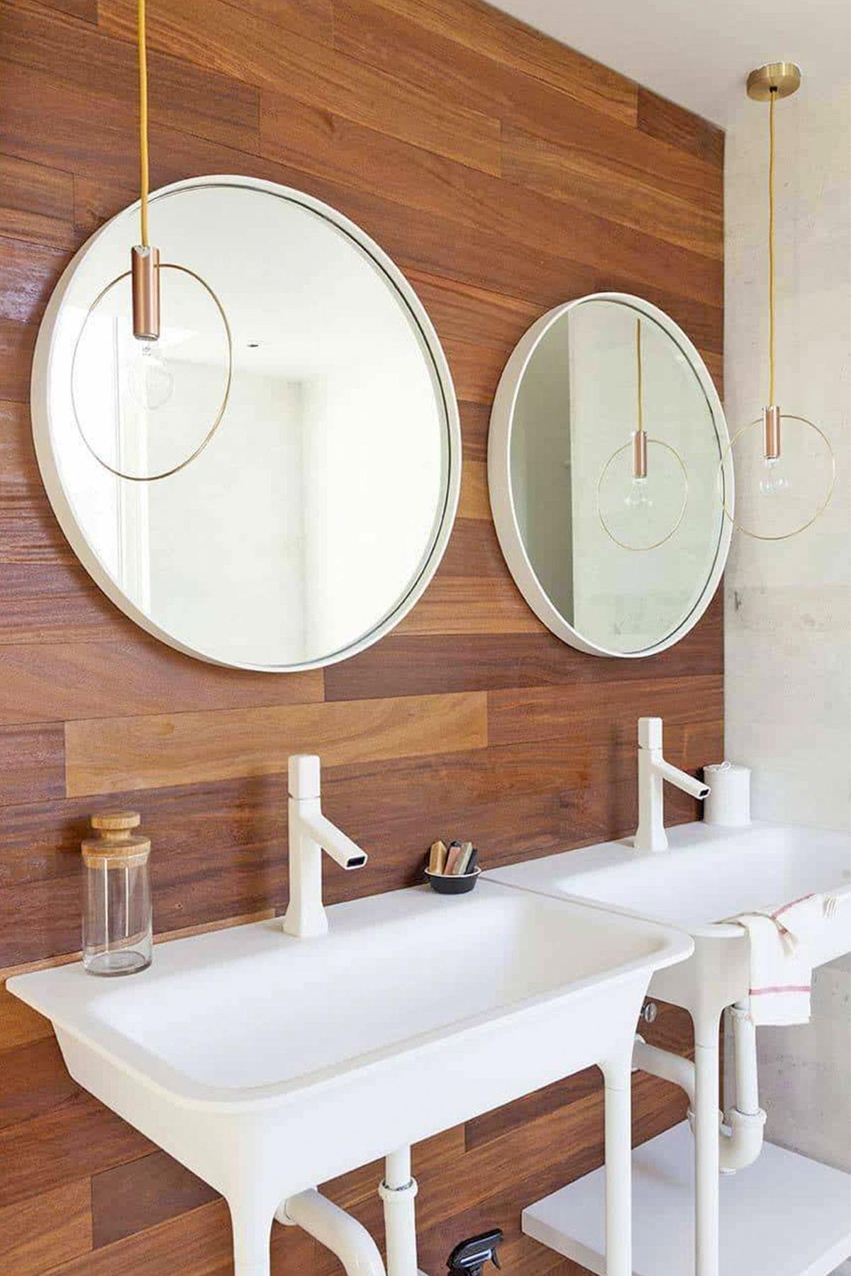 Thiết kế phòng tắm theo phong cách Midcentury