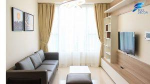thiết kế nội thất căn hộ 73m2