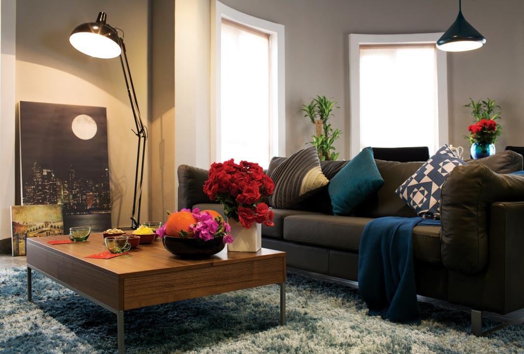hình ảnh: mẫu thiết kế nội thất căn hộ chung cư Saigon Pavillon 3 phòng ngủ