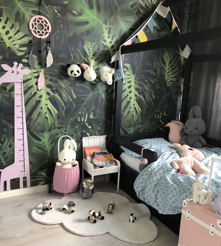 Thiết kế nội thất phòng ngủ trẻ em căn hộ 2 phòng ngủ phong cách Tropical Garden