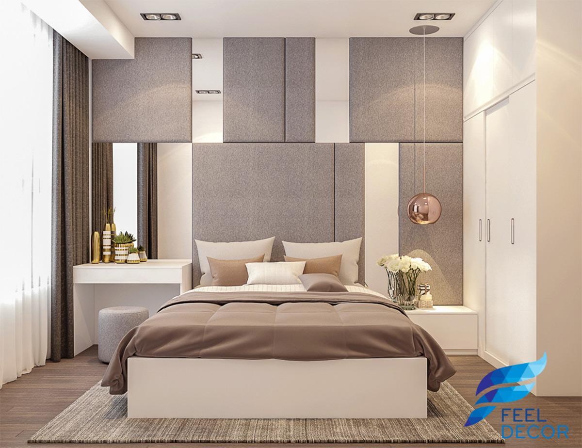 nội thất căn hộ 3 phòng ngủ (100m2) chung cư The Tresor